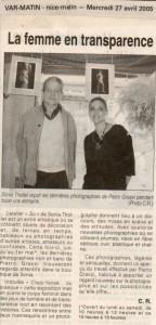 Var Matin, Avril 2005