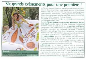 Fréjus Infos, Avril 2007