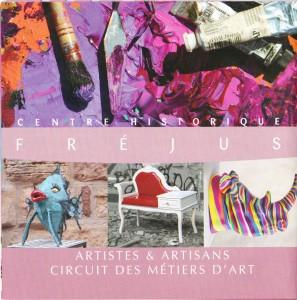 Dépliant Circuit des Métiers d'Art 2013