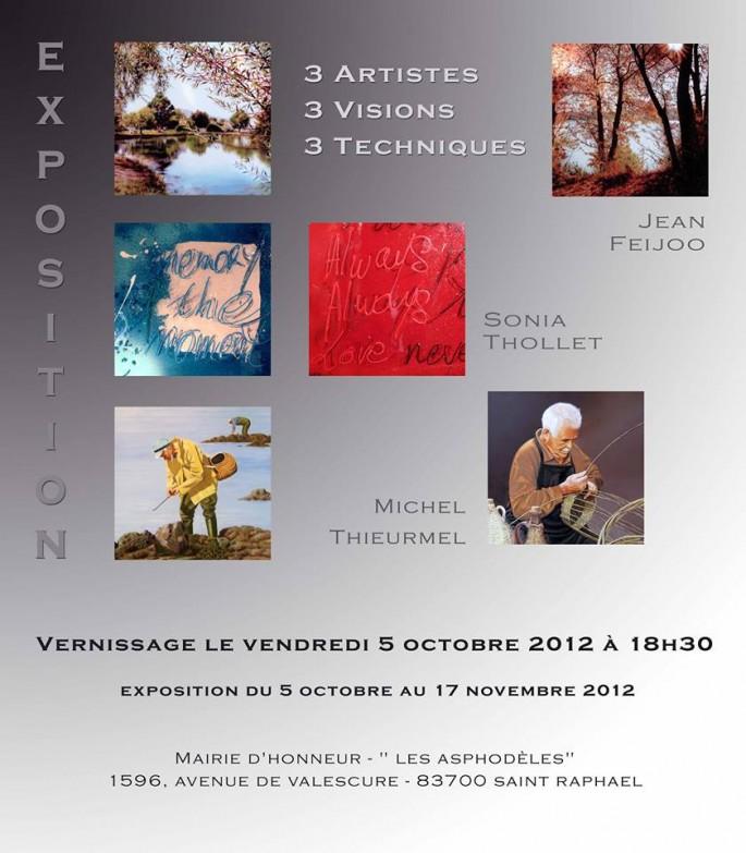 Exposition Mairie d'Honneur, Saint-Raphaël, Octobre 2012