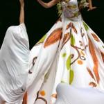 Robe peinte, Pascalyne, Danseuse