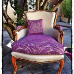 Le petit fauteuil rose ....